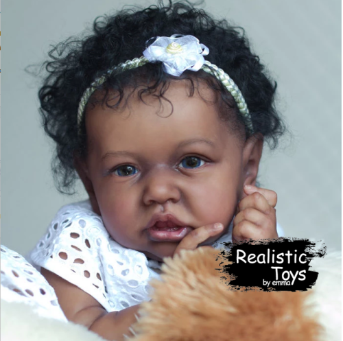 12''Little Nyla Reborn Baby Doll Girl