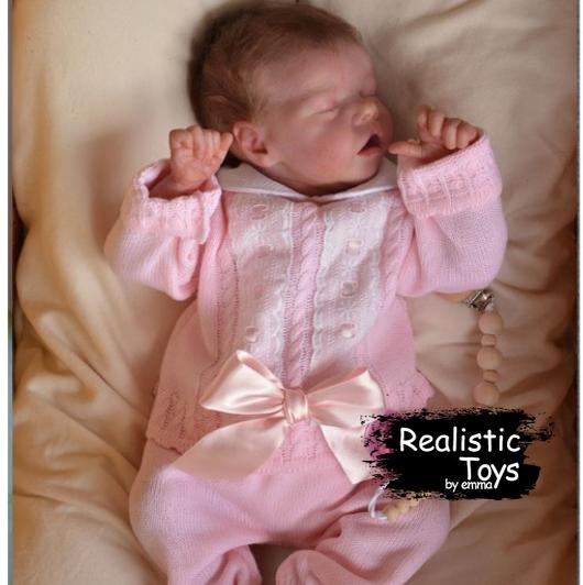 12''Real Lifelike Vanessa Reborn Baby Doll Girl