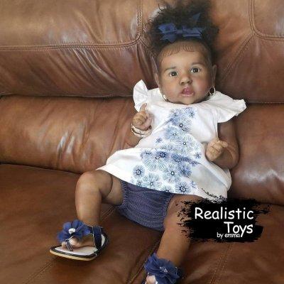 12''Little Melia Reborn Baby Doll Girl