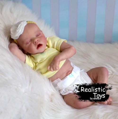 12''Real Lifelike Zara Reborn Baby Doll Girl