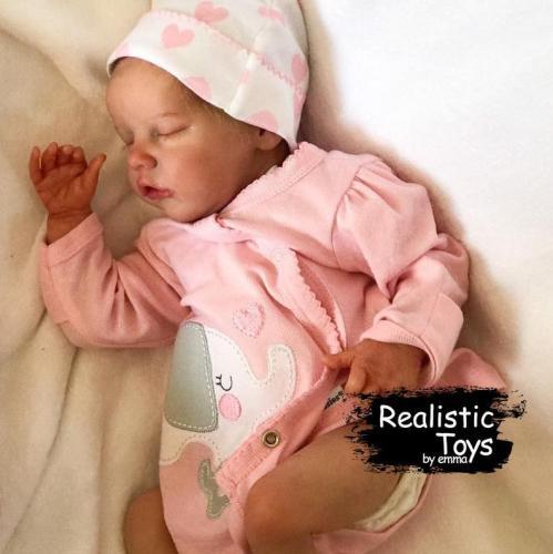 12''Real Lifelike Samara Reborn Baby Doll Girl