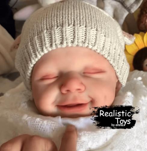 12''Little Jayden Cute Reborn Baby Doll