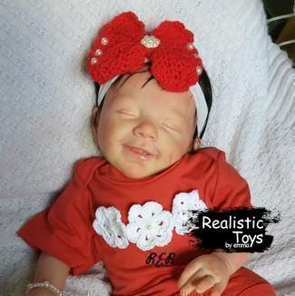 12''Little Harrison Cute Reborn Baby Doll
