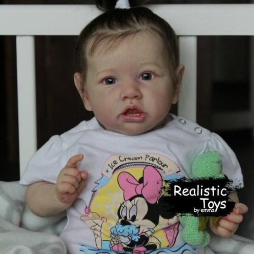 12''Little Brooke Reborn Baby Doll Girl