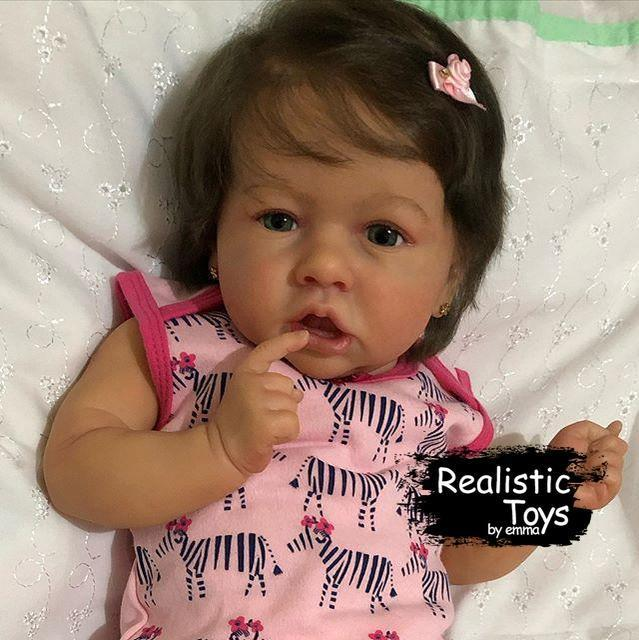 12''Little Hayley Reborn Baby Doll Girl