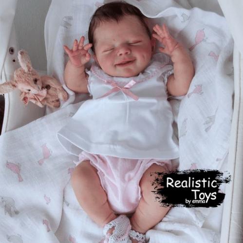 12''Little Camryn , Lifelike Reborn Baby Doll with Realistic Vinyl