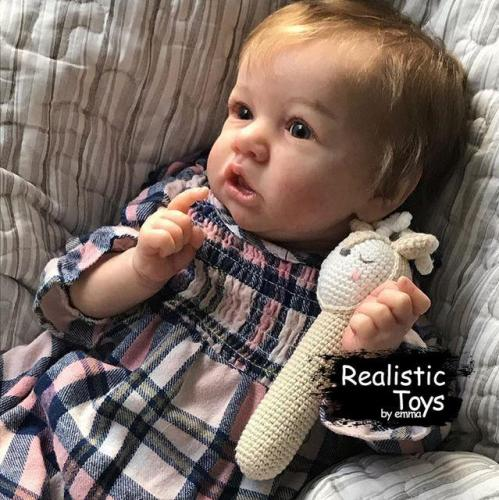 12''Little Anastasia Reborn Baby Doll Girl