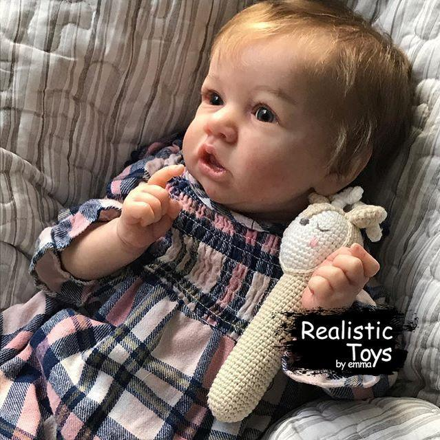 12''Little Anastasia Reborn Baby Doll Girl