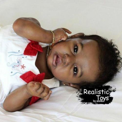 12''Little Elaine Reborn Baby Doll Girl