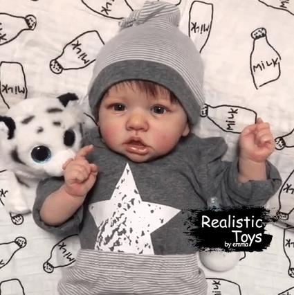12'' Little Daniel Reborn Baby Doll