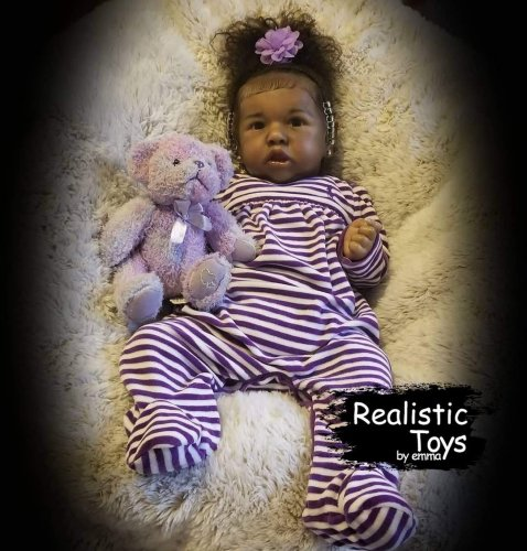 12''Real Life Reborn Baby Doll Girl Marlo That Look Real