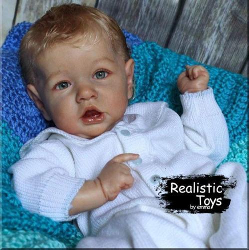 12''Little Jeremy Reborn Baby Boy