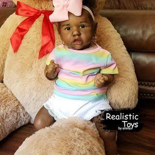12''Little Ranko Reborn Baby Doll Girl, Handmade Realistic Baby Doll for Girls