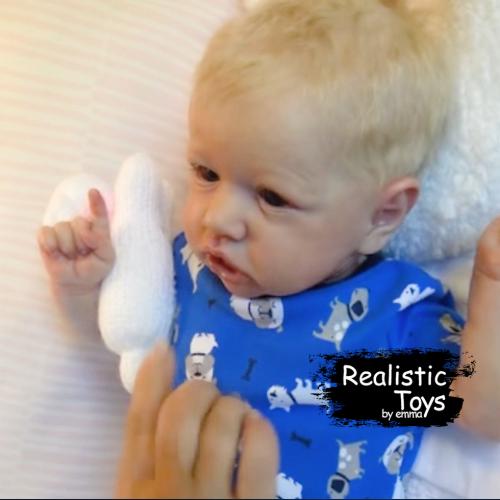12''Little Damon Reborn Baby Doll