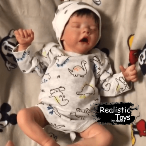 12''Real Lifelike Evelyn Reborn Baby Doll Girl