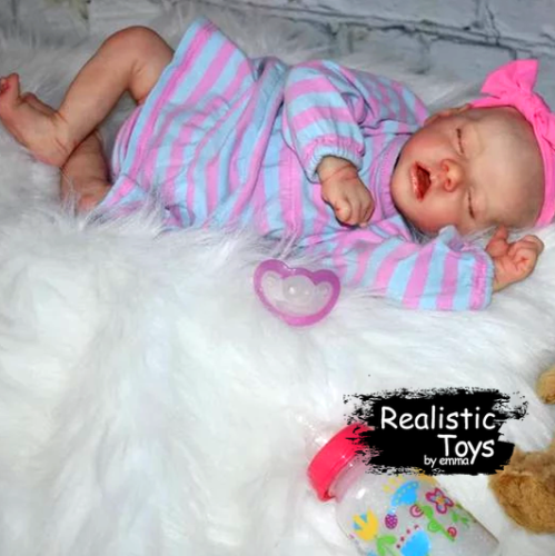 12''Real Lifelike Camille Reborn Baby Doll Girl