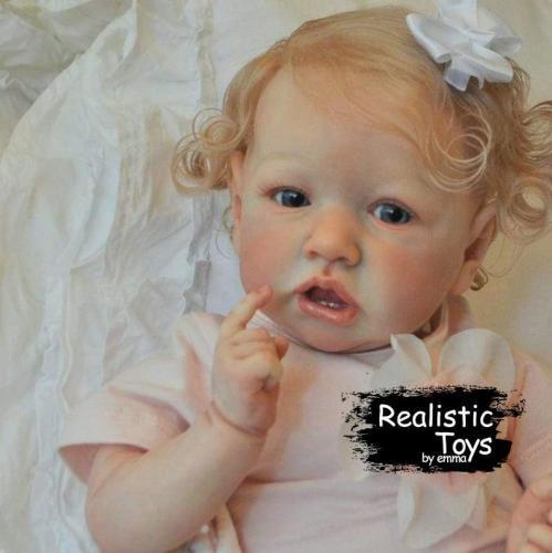 12''Little Margaret Reborn Baby Doll Girl
