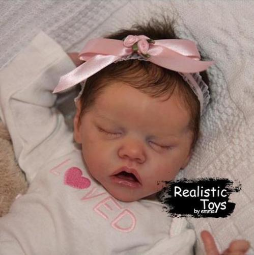 12''Real Lifelike Rayna Reborn Baby Doll Girl
