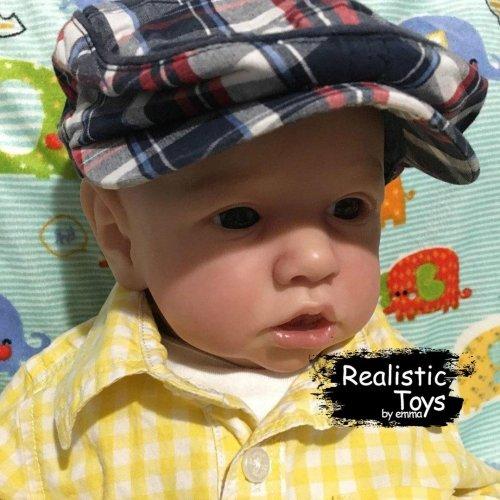 12'' Little Erik Reborn Baby Doll