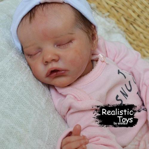 12''Sweet Dreams Handmade Reborn Girl Doll Mendez