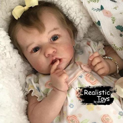 12''Sweet Cindy Reborn Baby Doll Girl Realistic Toys Gift Lover