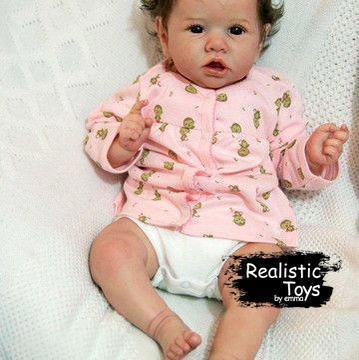 12''oscar Truly Reborn Baby Doll Girl