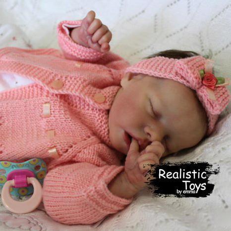 12''Real Lifelike Halle Reborn Baby Doll Girl
