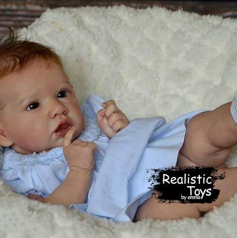 12''Sweet Thomas Reborn Baby Doll Girl Realistic Toys Gift Lover