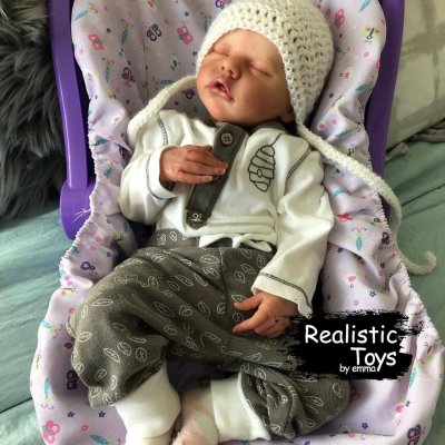 12''Little Stacy Real Lifelike Reborn Baby Doll Girl