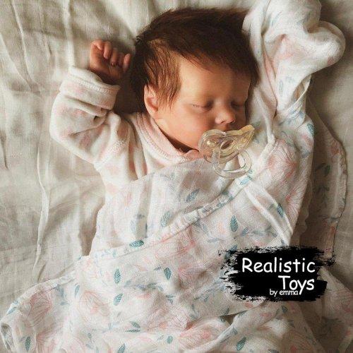 12''Sweet Sleeping Dreams Reborn Doreen Truly Baby Doll Girl