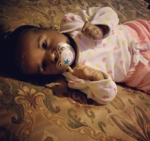 12''Little Jamani Reborn Baby Doll Girl