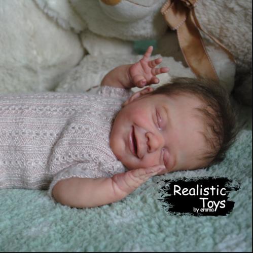 12'' Little Makenna Reborn Baby Doll Girl