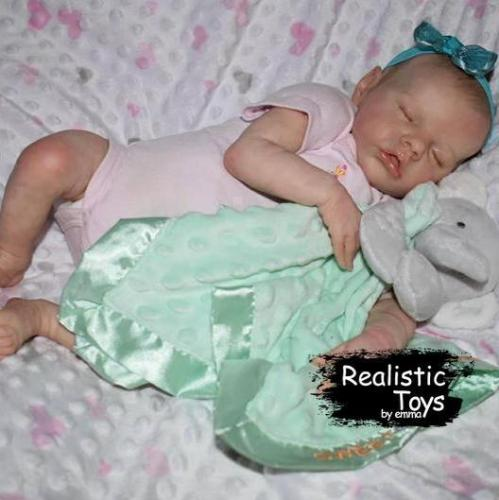12'' Real Lifelike Anika Reborn Baby Doll Girl