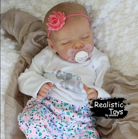 12''Real Lifelike Journey Reborn Baby Doll Girl