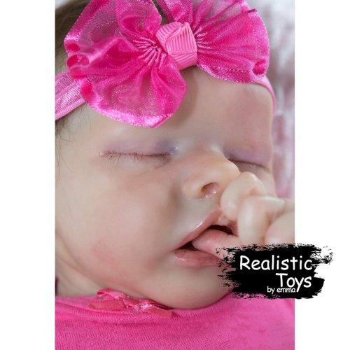12''Real Lifelike Giovanna Reborn Baby Doll Girl, Soft Vinyl Silicone Lifelike Kids Gifts