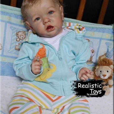 12''Realistic Lifelike Newborn Hawn Reborn Baby Doll