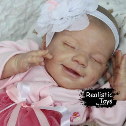 12'' Little Amelia Reborn Baby Doll