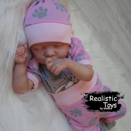 12'' SoftTouch Real Lifelike Kinley Reborn Baby Doll Girl