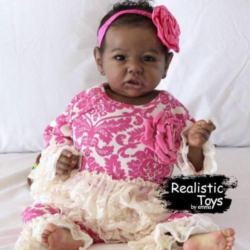12''Little Elliot Reborn Baby Doll Girl