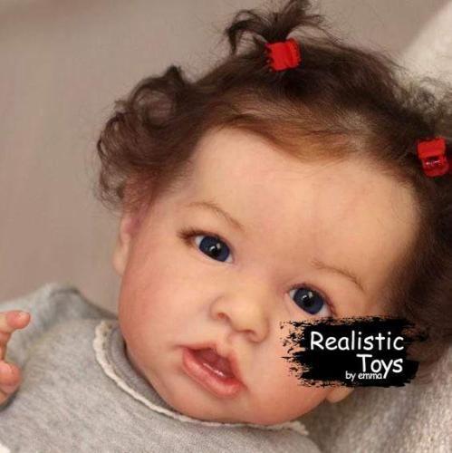 12''Little Truda Reborn Baby Doll girl
