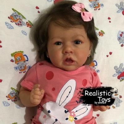 12''Reborn Baby Girl donna, Realistic Lifelike Handmade Doll Gift