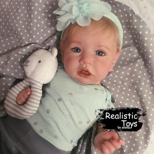 12''Sweet Emma Handmade Reborn Baby Doll Girl