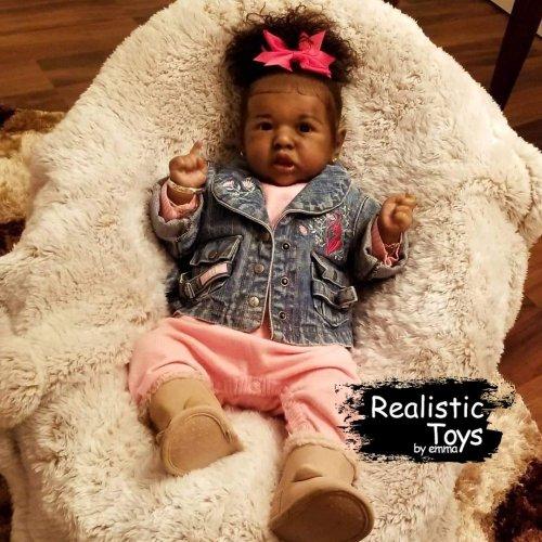 12''Heidi Truly Reborn Baby Doll Girl