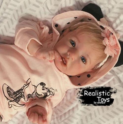 12''Cierra Truly Reborn Baby Doll Girl