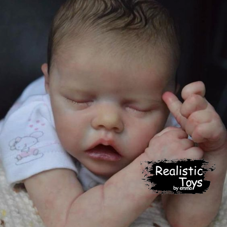12'' Real Lifelike Andrew a Reborn Baby Doll Girl