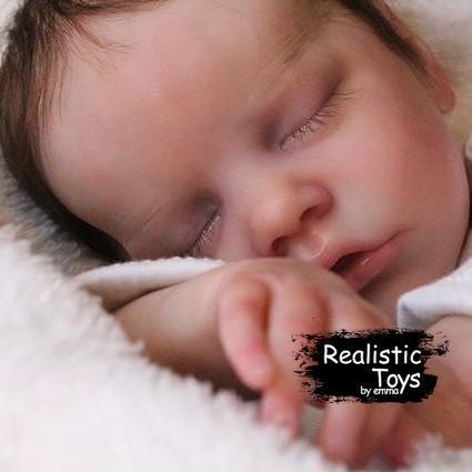 12''Real Lifelike Christopher a Reborn Baby Doll Girl