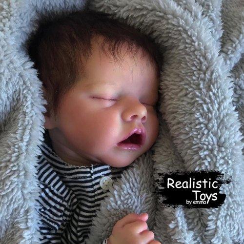 12''Real Lifelike Mack Reborn Baby Doll Girl