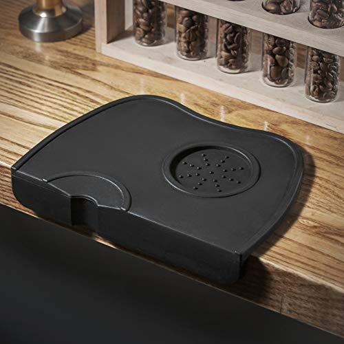 Yolococa Corner Tamping Mat Pad Tool Made for Baristas with Non-Slippery Food Safe Silicone