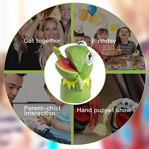 Yolococa Muppets Most Wanted Show Kermit The Frog Rubber Doll Hand Puppet Toy Gift