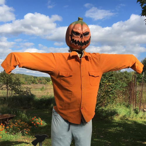 CreepyParty Halloween Jack O'Lanterns Pumpkin Face Head Masks